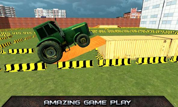 Tractor Parking Simulator 2017 screenshot 3