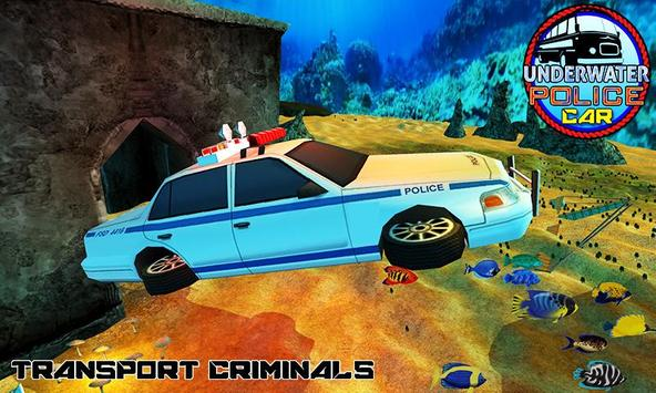 Underwater Police Car Duty Sim apk screenshot