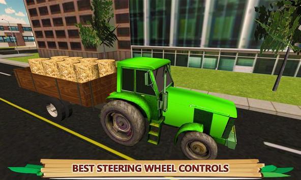 Village Tractor Driving Sim apk screenshot