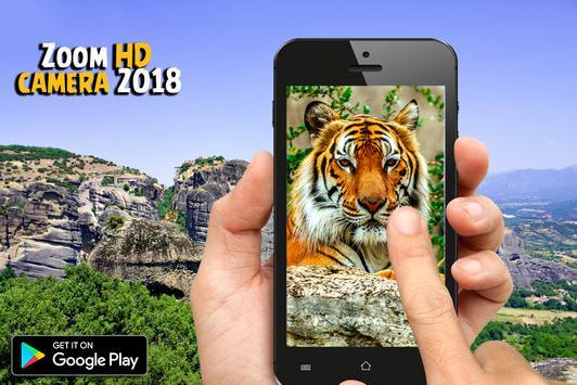 Zoom HD camera 2018 screenshot 2