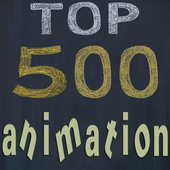 Top 500 Animation icon