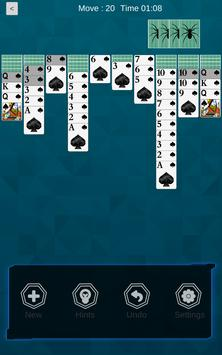 Spider Solitaire 2018 screenshot 2