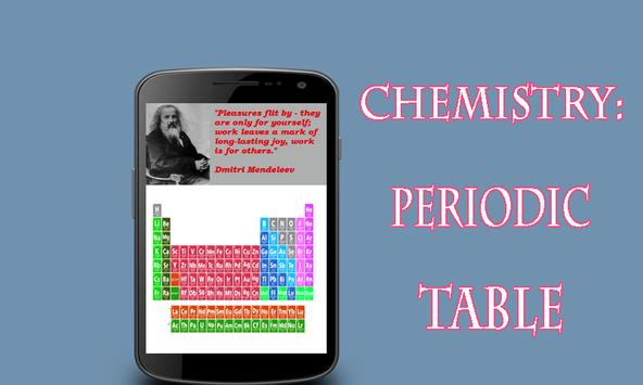 Chemistry periodic table apk download free education app for chemistry periodic table apk screenshot urtaz Choice Image