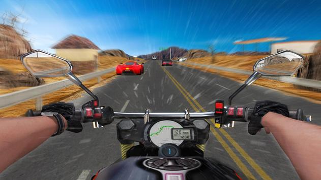 Speed Moto Traffic Rider poster