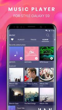 Music player S9 Edge – Mp3 player for S9 Galaxy ポスター