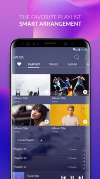 Music player S9 Edge – Mp3 player for S9 Galaxy スクリーンショット 1