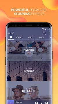 Music player S9 Edge – Mp3 player for S9 Galaxy スクリーンショット 4