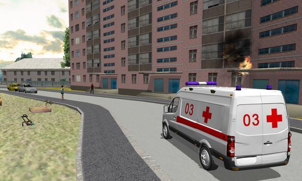 Ambulance Simulator 3D screenshot 9