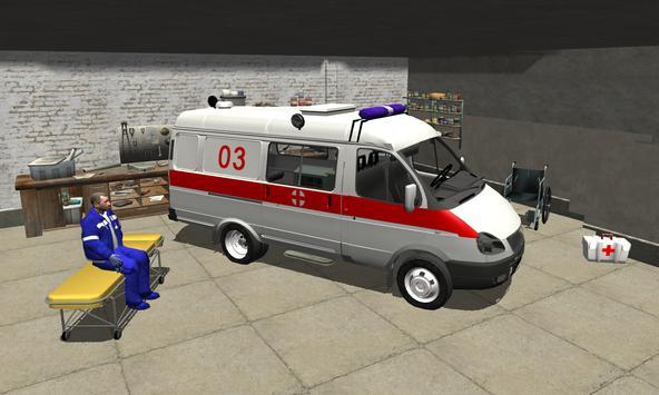 Ambulance Simulator 3D poster