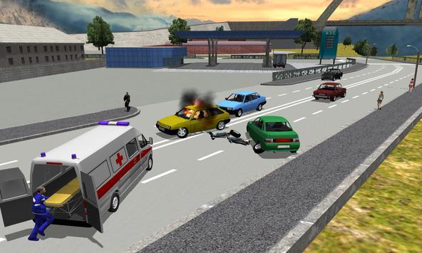 Ambulance Simulator 3D screenshot 12