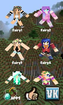 Fairy Skins for Minecraft PE Free ( MCPE ) poster