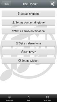 Scary Ringtones Free Download apk screenshot