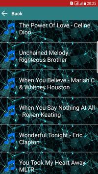 Top MP3 Love Songs Lyrics apk screenshot
