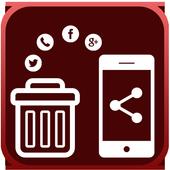 App Move/Uninstall/Share icon