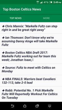 Top Boston Celtics News poster