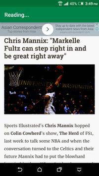 Top Boston Celtics News screenshot 2