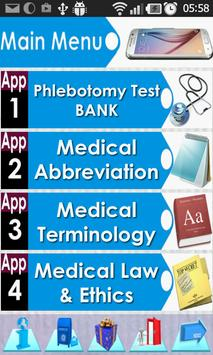 Phlebotomy Questions Bank poster