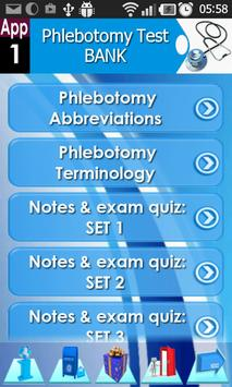 Phlebotomy Questions Bank screenshot 1