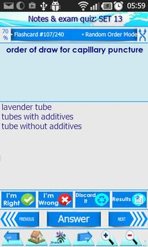 Phlebotomy Questions Bank screenshot 5