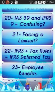 IFRS Standards rules explained apk screenshot