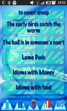 English Popular Idioms Cards apk screenshot