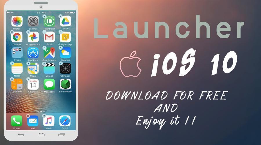 ios 10 launcher app download