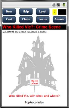 Who Killed Vic? apk screenshot