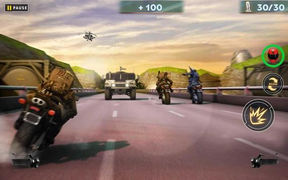 US ARMY: MOTO RACER apk screenshot