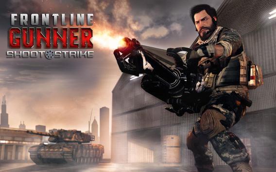 Frontline Gunner Counter Shoot Strike poster