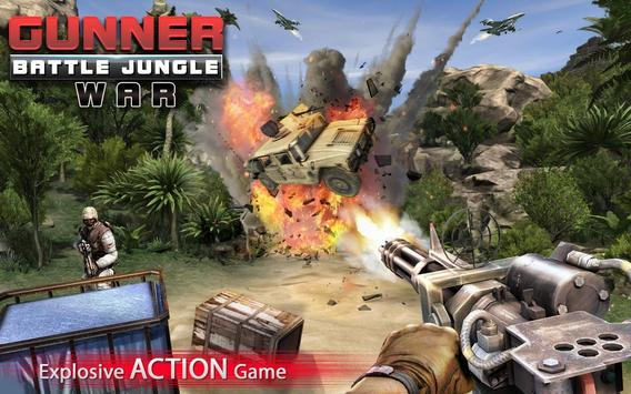 Gunner Battle Jungle War Plakat