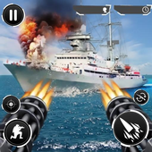 Navy Gunner Shoot War 3D icon