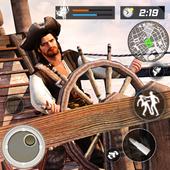 Caribbean Pirates Navy Shoot War icon