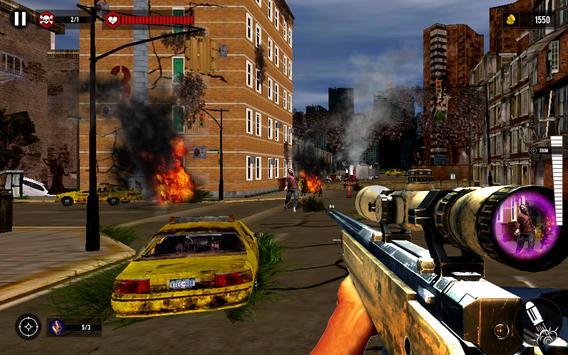 Zombie Last Hope Sniper 3D apk screenshot