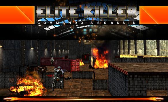 Elite Killer – Assassin FPS 3D apk screenshot