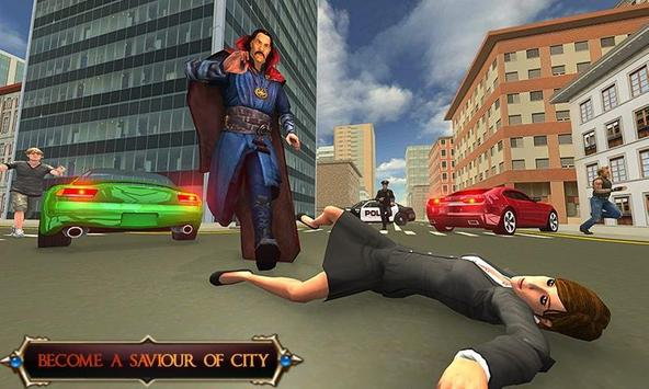 Superhero Magician : Strange Fighting Arena poster