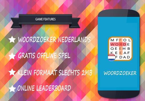 Woordzoeker nederlands gratis apk screenshot