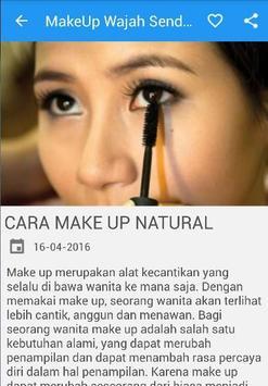 Cara MakeUp Wajah Cantik Alami screenshot 2