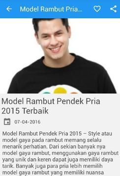 Model Rambut Pria dan Wanita screenshot 1