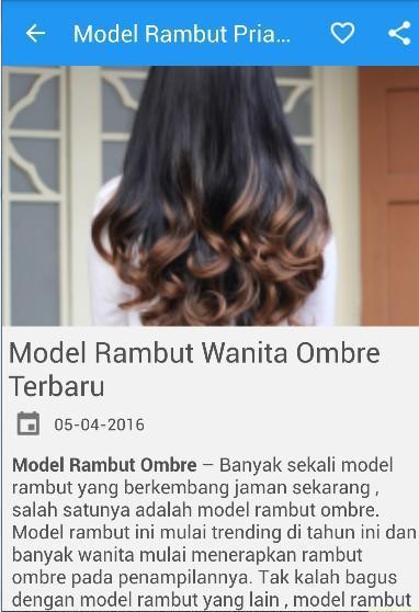 Model Rambut Pria Dan Wanita For Android Apk Download