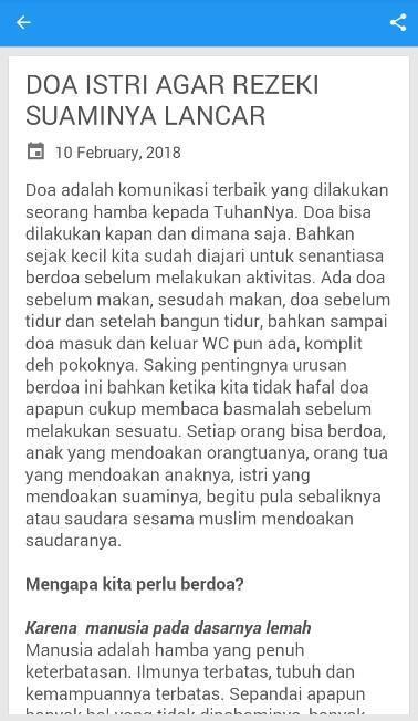 Doa Istri Untuk Suami Dlya Android Skachat Apk