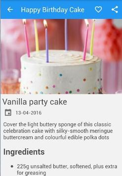 HowTo Make Happy Birthday Cake screenshot 3