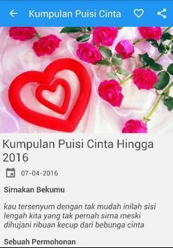 Kumpulan Puisi Cinta Romantis screenshot 3
