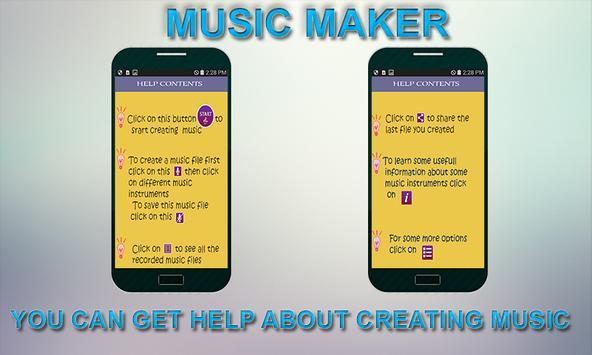 Digital Music Maker screenshot 1