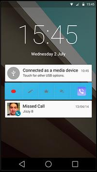 RMC Android Cell Call Recorder apk screenshot
