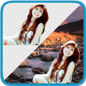 Pic Background Eraser and Changer + Photo Blender 图标