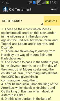 King James Bible apk screenshot