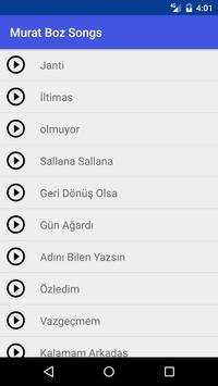Janti Murat Boz Songs apk screenshot