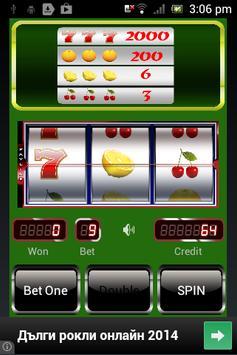 Red Cherry Slot Machine poster