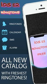 12 Free Ringtones phone poster