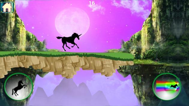 Shadow Unicorn Dash Run apk screenshot